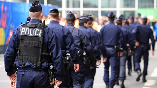 The five were arrested on Sunday in Strasbourg and Marseille