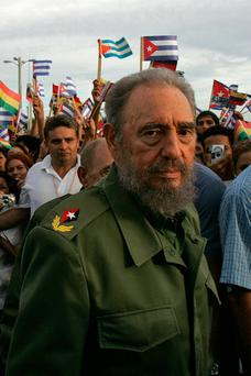 EL COMANDANTE: Fidel Castro in 2006. Photo: Adalberto Roque/Getty.