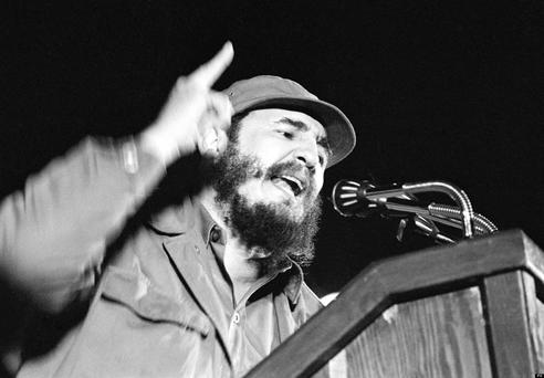 Castro in 1962. Photo: AP/Press Association Images