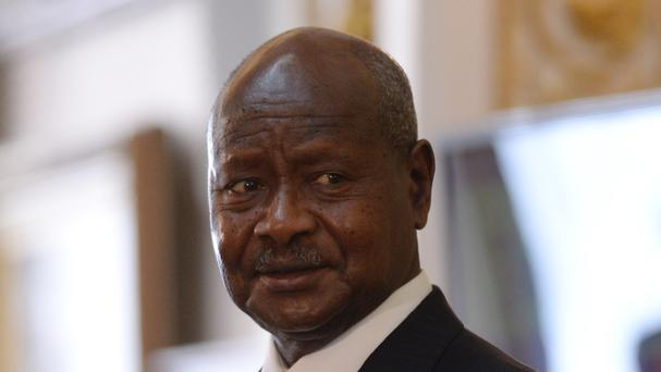 The rebels are opposed to Ugandan President Yoweri Museveni