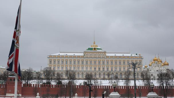 View of the Kremlin, Moscow. Yuri Eliseev died in the city while taking part in parkour, according to police