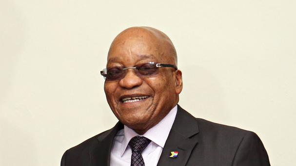 South African President Jacob Zuma is under pressure