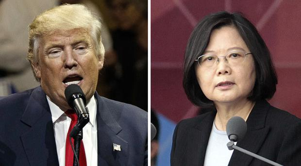 US president-elect Donald Trump was called by Taiwan's president Tsai Ing-wen but his decision to speak to her broke diplomatic protocol (AP)