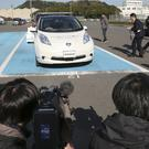 Nissan testing self-driving cars at one of its plants in Japan (AP)