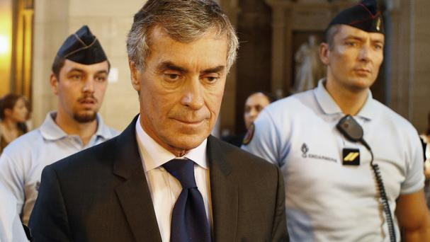 Jerome Cahuzac was found guilty of tax fraud and money laundering (AP)