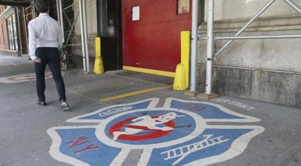 The fire station featured in the 1984 film Ghostbusters is in New York (AP)