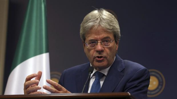 Italian Foreign Minister Paolo Gentiloni is set to take over as prime minister (AP)