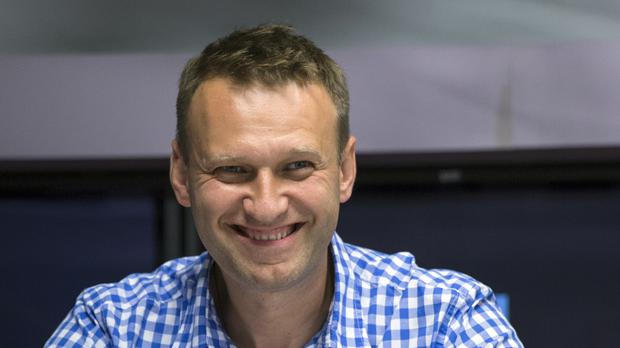 Russian opposition activist Alexei Navalny says he will run for president in 2018. (AP)