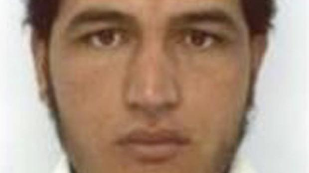 Tunisian national Anis Amri, who is wanted by German police for an alleged involvement in the Berlin Christmas market attack (AP)