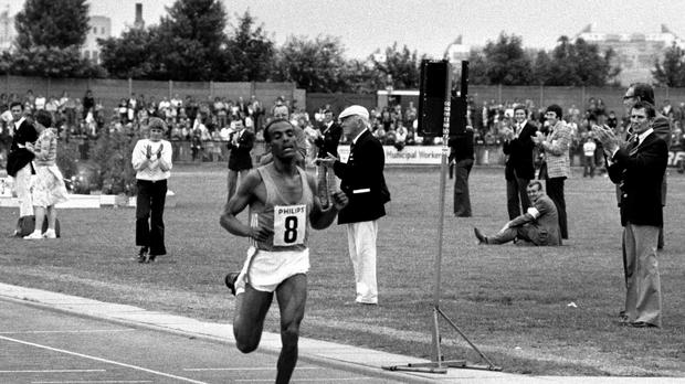 Miruts Yifter won two gold medals at the Moscow Olympics