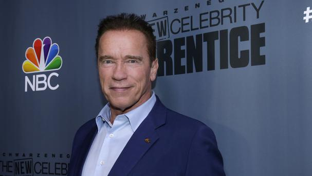 Arnold Schwarzenegger says he will make his own mark on The New Celebrity Apprentice (NBC/ AP)