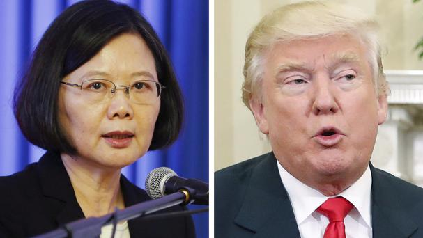 Taiwan president stirs pot with U.S.  visit