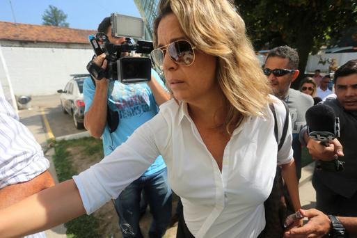 A CRIME OF PASSION OR A PLANNED MURDER? Francoise Amiridis is now in police custody (AP)