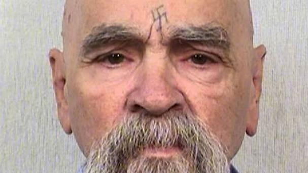 Charles Manson pictured in October 2014, following reports that he had been taken to a California hospital (California Department of Corrections and Rehabilitation/AP)