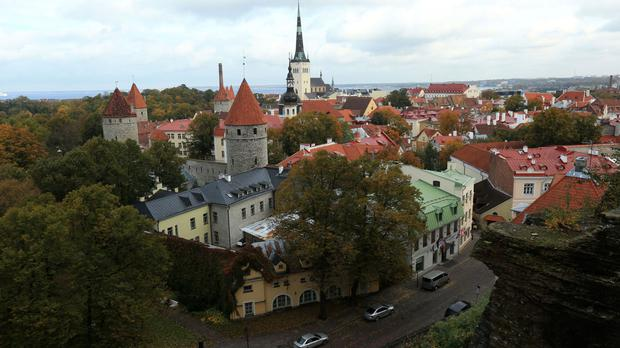 The BNS agency is based in Tallinn, Estonia
