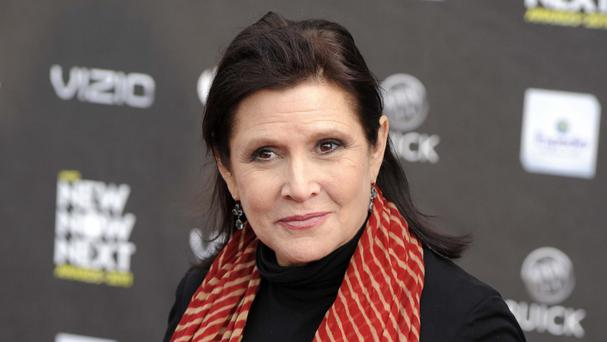 Carrie Fisher died after suffering a heart attack on a flight from London to Los Angeles. Photo: PA