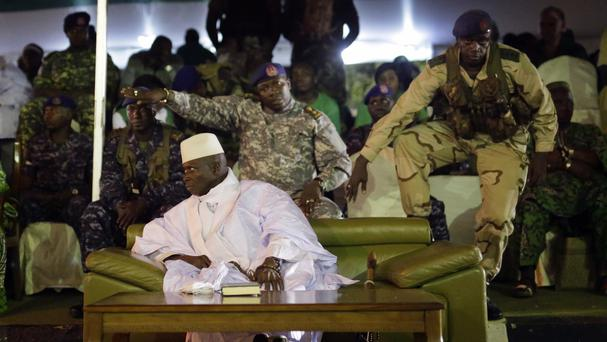 President Yahya Jammeh has refused to step down (AP/Jerome Delay)