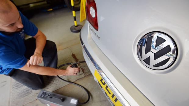 Under the proposal, VW would agree to 'a guilty plea' over the emissions scandal
