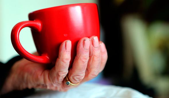 Sleeping well becomes harder with age – so coffee and tea should be avoided after lunchtime, experts say. Photo: PA