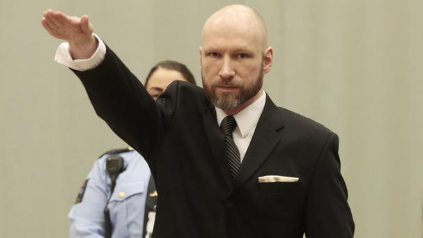 Anders Breivik was responsible for a mass bomb and shooting attack in Norway (Lise Aaserud/NTB Scanpix via AP)