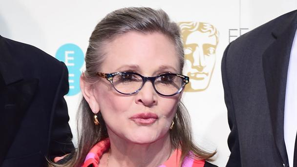 Carrie Fisher, who played Princess Leia, died on December 27