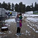 Refugees who have fled war in Syria (AP Photo/Muhammed Muheisen)