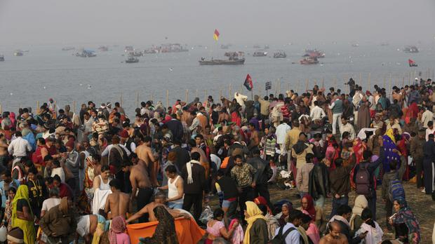 The worshippers drowned on their way back from a Hindu festival
