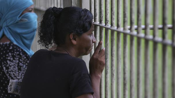 The riot in the state of Rio Grande do Norte was the latest in a series of massacres in Brazil's prisons which have left more than 100 people dead (Michael Dantas/AP)