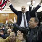 People celebrate after the court ruling on the Red Sea islands (AP/Amr Nabil)