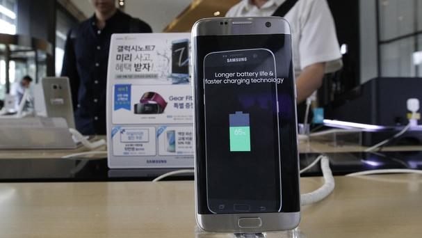 Samsung said problems with the design and manufacturing of batteries in its Galaxy Note 7 smartphones caused them to overheat (AP file photo/Ahn Young-joon)