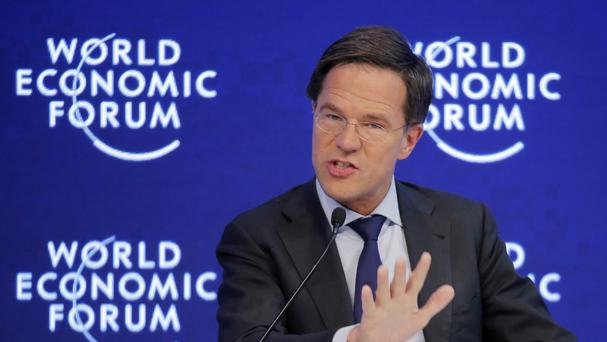 Mr Rutte urged people who would not integrate to