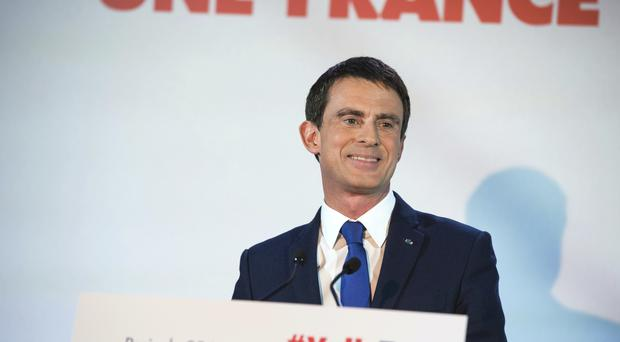 Mr Valls has urged the electorate to be ready if Donald Trump launches