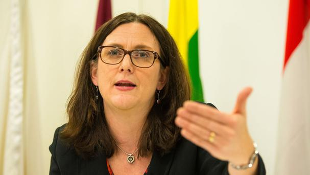 European Commissioner for Trade Cecilia Malmstrom said the EU's success is based on its open society