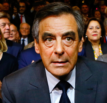 Outraged: François Fillon. Photo: AP