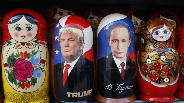 There is concern within the Republican party over US sanctions on Russia being eased (AP)