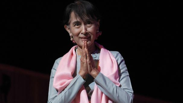 An adviser to Burmese leader Aung San Suu Kyi has been assassinated at an airport