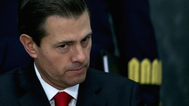 Mexico's president Enrique Pena Nieto cancelled a meeting with Donald Trump