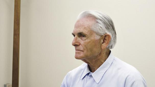 Bruce Davis pictured in October 2012 - the 74-year-old has been recommended for parole (Joe Johnston/The Tribune of San Luis Obispo/AP, File)