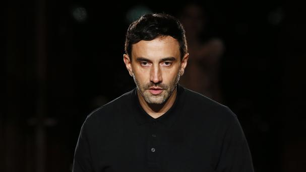 Italian designer Riccardo Tisci is leaving Givenchy (AP)