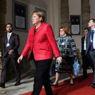 Mrs Merkel is seeking a fourth term in office