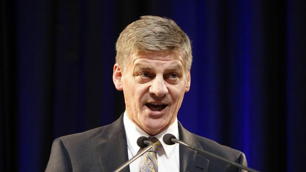 New Zealand premier Bill English said he had an amicable conversation with US president Donald Trump. (AP Photo/Nick Perry/File)