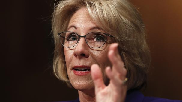 Betsy DeVos is a wealthy Republican donor and longtime school choice advocate (Carolyn Kaster/AP)