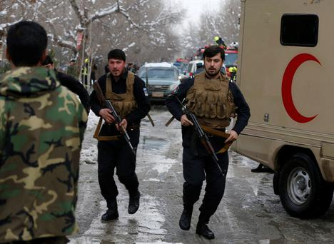 At least 12 dead in blast near Supreme Court in Kabul, Afghanistan