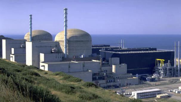 The incident occurred at the nuclear plant in Normandy (Pierre Berenger/EDF via AP)