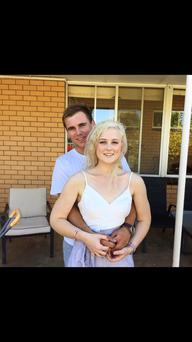 Emily Jayne Collie and boyfriend Tommy Lyon Keating Photo: Facebook