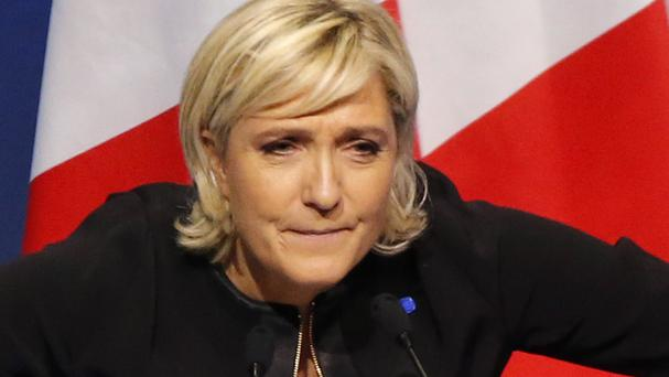 Marine Le Pen wants France to leave the euro (Michel Euler/AP)