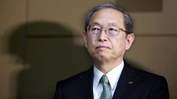 Satoshi Tsunakawa said the company is looking for potential partners to acquire a stake in Westinghouse (AP)