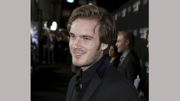 Felix Kjellberg, known online as PewDiePie, has the most popular YouTube channel, with more than 53 million subscribers (AP)