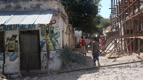 Daily life in Mogadishu, as the UN is warned that famine may cause the deaths of hundreds of thousands of people in Somalia