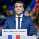 French presidential contender Emmanuel Macron Photo: Reuters